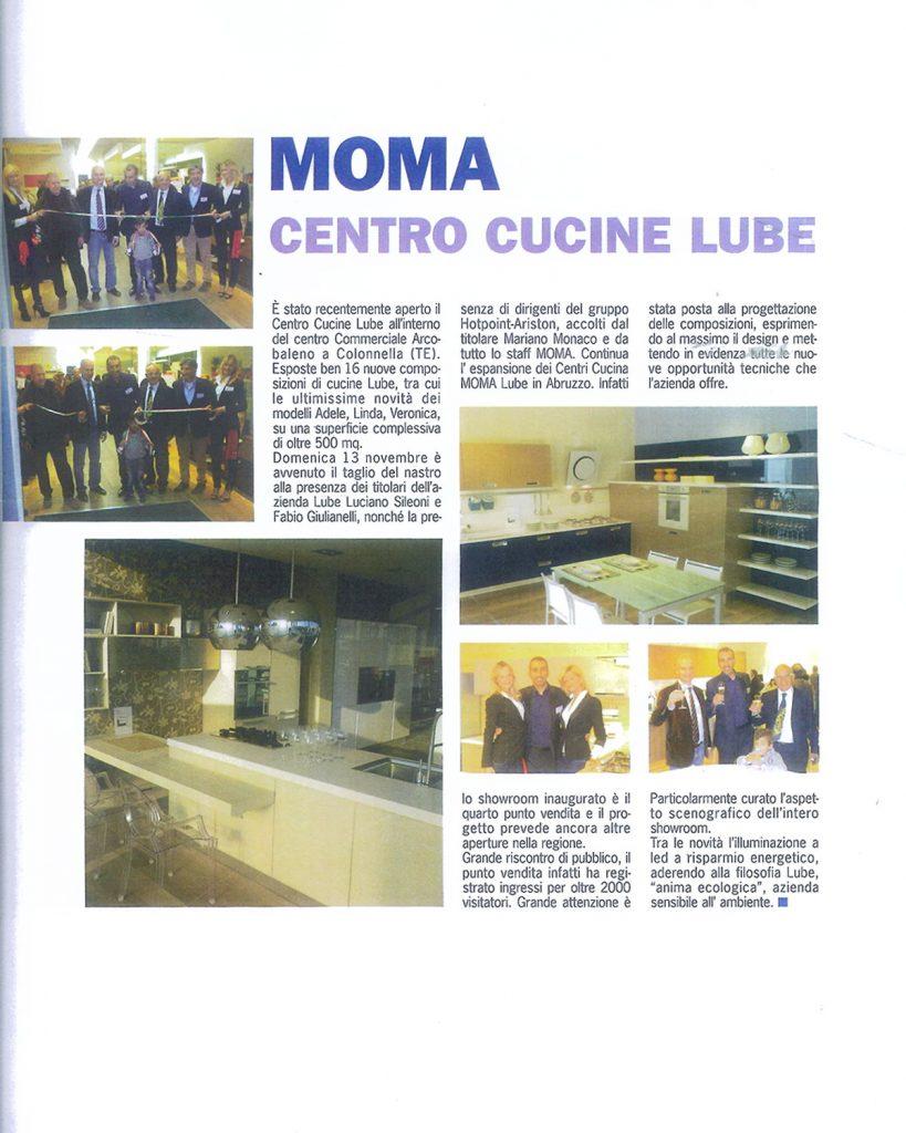 Moma, centro cucine Lube - Mariano Monaco Group